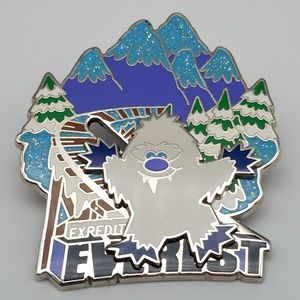 Disney Everest Cute Character Yeti Slider Pin